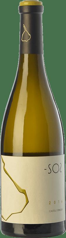 21,95 € | White wine Castell d'Encús SO2 Crianza D.O. Costers del Segre Catalonia Spain Sauvignon White, Sémillon Bottle 75 cl