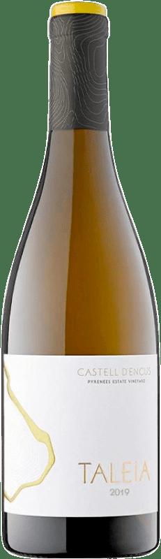 26,95 € Free Shipping | White wine Castell d'Encús Taleia Crianza D.O. Costers del Segre Catalonia Spain Sauvignon White, Sémillon Bottle 75 cl