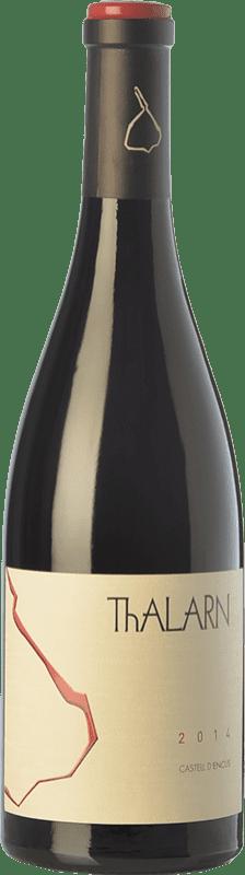 36,95 € Envoi gratuit | Vin rouge Castell d'Encús Thalarn Crianza D.O. Costers del Segre Catalogne Espagne Syrah Bouteille 75 cl