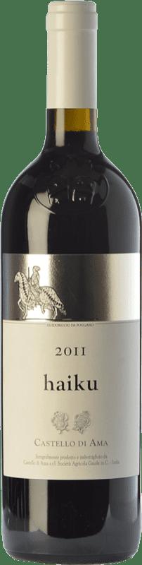 61,95 € Free Shipping | Red wine Castello di Ama Haiku I.G.T. Toscana Tuscany Italy Merlot, Sangiovese, Cabernet Franc Bottle 75 cl