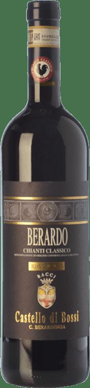 36,95 € | Red wine Castello di Bossi Berardo Riserva Reserva D.O.C.G. Chianti Classico Tuscany Italy Sangiovese Bottle 75 cl