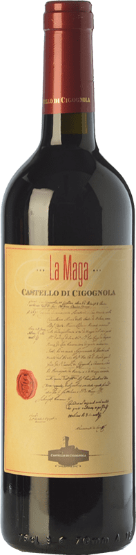 22,95 € | Red wine Castello di Cigognola La Maga D.O.C. Oltrepò Pavese Lombardia Italy Barbera Bottle 75 cl