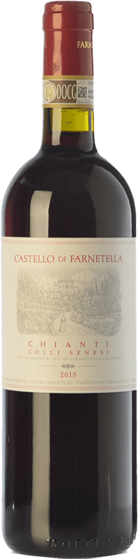 9,95 € | Red wine Castello di Farnetella Colli Senesi D.O.C.G. Chianti Tuscany Italy Merlot, Sangiovese Bottle 75 cl