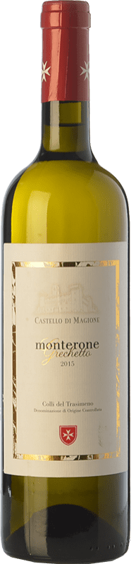 13,95 € | White wine Castello di Magione Monterone D.O.C. Colli del Trasimeno Umbria Italy Grechetto Bottle 75 cl