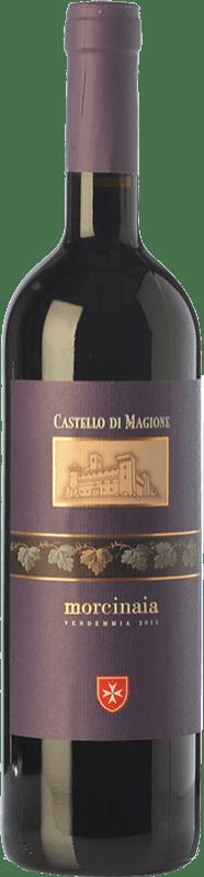 18,95 € Free Shipping | Red wine Castello di Magione Morcinaia D.O.C. Colli del Trasimeno Umbria Italy Merlot, Cabernet Sauvignon, Sangiovese Bottle 75 cl