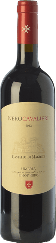 14,95 € | Red wine Castello di Magione Nero Cavalieri I.G.T. Umbria Umbria Italy Pinot Black Bottle 75 cl