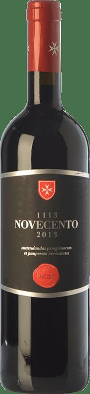 15,95 € Free Shipping | Red wine Castello di Magione Novecento I.G.T. Umbria Umbria Italy Merlot, Sangiovese Bottle 75 cl