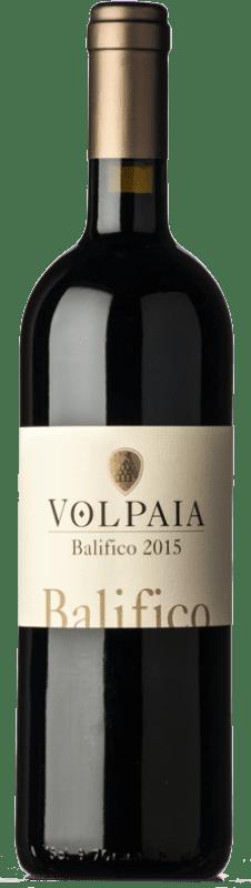 59,95 € Free Shipping | Red wine Castello di Volpaia Balifico I.G.T. Toscana Tuscany Italy Cabernet Sauvignon, Sangiovese Bottle 75 cl