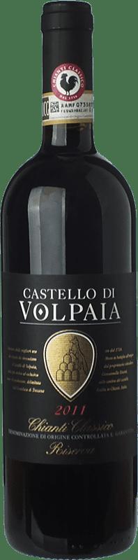37,95 € Free Shipping | Red wine Castello di Volpaia Riserva Reserva D.O.C.G. Chianti Classico Tuscany Italy Sangiovese Bottle 75 cl