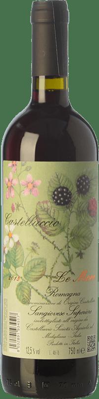 9,95 € Free Shipping | Red wine Castelluccio Le More di Romagna I.G.T. Emilia Romagna Emilia-Romagna Italy Sangiovese Bottle 75 cl