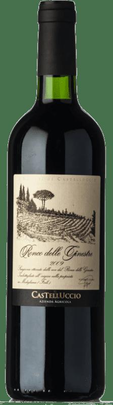 32,95 € Free Shipping | Red wine Castelluccio Ronco delle Ginestre I.G.T. Forlì Emilia-Romagna Italy Sangiovese Bottle 75 cl