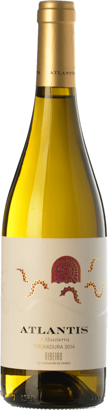 11,95 € | White wine Castillo de Maetierra Atlantis D.O. Ribeiro Galicia Spain Treixadura Bottle 75 cl