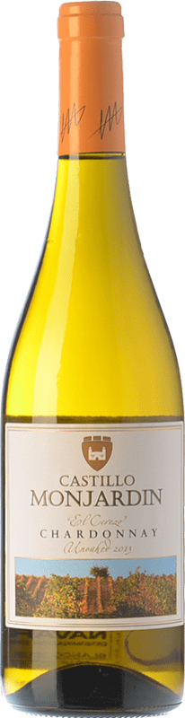 16,95 € Free Shipping | White wine Castillo de Monjardín El Cerezo D.O. Navarra Navarre Spain Chardonnay Magnum Bottle 1,5 L