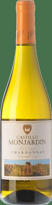 6,95 € Free Shipping | White wine Castillo de Monjardín El Cerezo D.O. Navarra Navarre Spain Chardonnay Bottle 75 cl