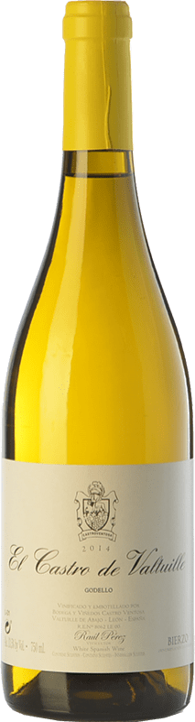 13,95 € 免费送货   白酒 Castro Ventosa El Castro de Valtuille Crianza D.O. Bierzo 卡斯蒂利亚莱昂 西班牙 Godello 瓶子 75 cl