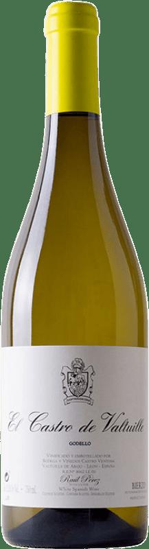 13,95 € Envoi gratuit | Vin blanc Castro Ventosa El Castro de Valtuille Crianza D.O. Bierzo Castille et Leon Espagne Godello Bouteille 75 cl