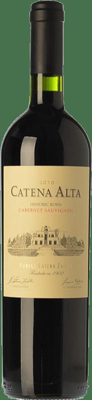 34,95 € 免费送货 | 红酒 Catena Zapata Alta Crianza I.G. Mendoza 门多萨 阿根廷 Cabernet Sauvignon 瓶子 75 cl