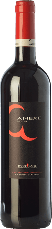 7,95 € 免费送货 | 红酒 Cedó Anguera Anexe Joven D.O. Montsant 加泰罗尼亚 西班牙 Syrah, Grenache, Carignan 瓶子 75 cl