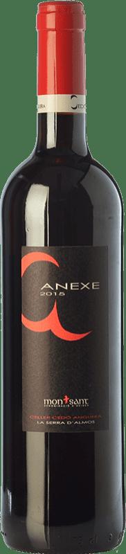7,95 € Free Shipping | Red wine Cedó Anguera Anexe Joven D.O. Montsant Catalonia Spain Syrah, Grenache, Carignan Bottle 75 cl