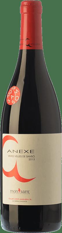 9,95 € 免费送货 | 红酒 Cedó Anguera Anexe Vinyes Velles Carinyena Joven D.O. Montsant 加泰罗尼亚 西班牙 Carignan 瓶子 75 cl