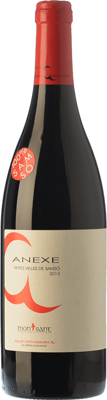 9,95 € Free Shipping | Red wine Cedó Anguera Anexe Vinyes Velles Carinyena Joven D.O. Montsant Catalonia Spain Carignan Bottle 75 cl