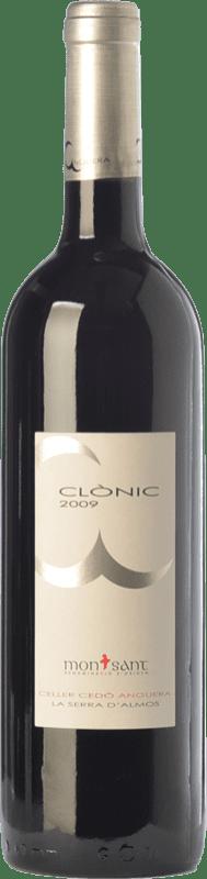 12,95 € Free Shipping | Red wine Cedó Anguera Clònic Joven D.O. Montsant Catalonia Spain Syrah, Cabernet Sauvignon, Carignan Bottle 75 cl