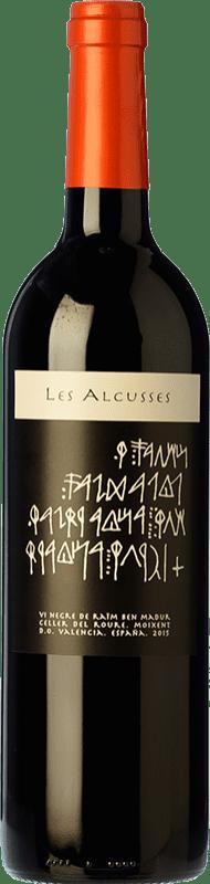 11,95 € 免费送货 | 红酒 Roure Les Alcusses Joven D.O. Valencia 巴伦西亚社区 西班牙 Tempranillo, Merlot, Syrah, Cabernet Sauvignon, Monastrell 瓶子 75 cl
