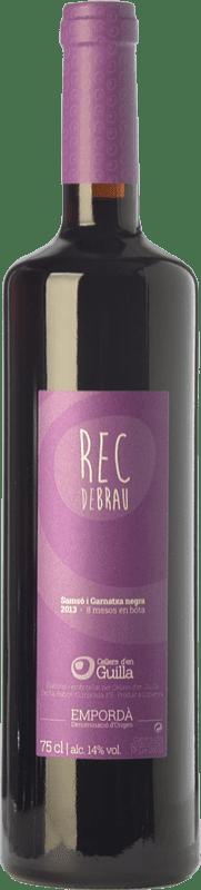 7,95 € | Red wine Guilla Rec de Brau Joven D.O. Empordà Catalonia Spain Grenache, Carignan Bottle 75 cl