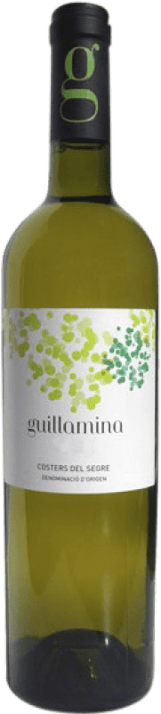 7,95 € Free Shipping | White wine Cercavins Guillamina D.O. Costers del Segre Catalonia Spain Macabeo, Sauvignon White, Gewürztraminer Bottle 75 cl
