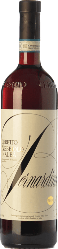 21,95 € Free Shipping | Red wine Ceretto Bernardina D.O.C. Nebbiolo d'Alba Piemonte Italy Nebbiolo Bottle 75 cl