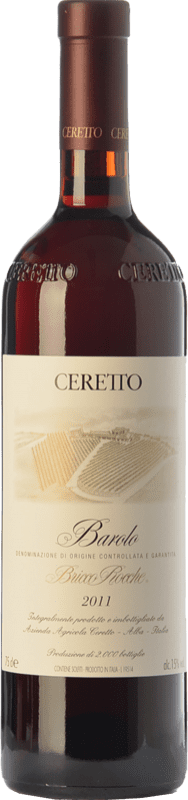 257,95 € Free Shipping | Red wine Ceretto Bricco Rocche D.O.C.G. Barolo Piemonte Italy Nebbiolo Bottle 75 cl