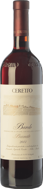 155,95 € Free Shipping | Red wine Ceretto Brunate D.O.C.G. Barolo Piemonte Italy Nebbiolo Bottle 75 cl