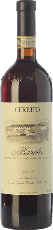 59,95 € Free Shipping | Red wine Ceretto D.O.C.G. Barolo Piemonte Italy Nebbiolo Bottle 75 cl