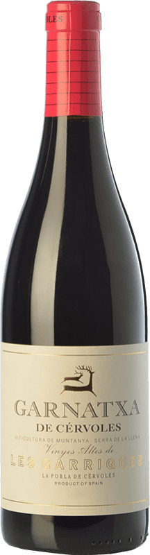 13,95 € Free Shipping | Red wine Cérvoles Garnatxa Joven D.O. Costers del Segre Catalonia Spain Grenache Bottle 75 cl