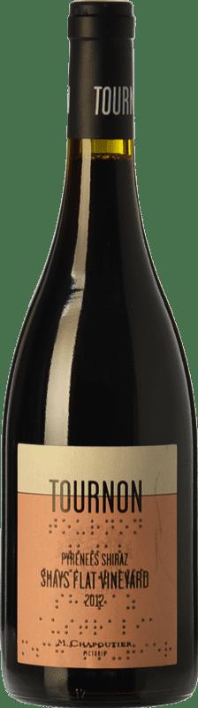35,95 € Free Shipping | Red wine Chapoutier Domaine Tournon Shays Flat Crianza I.G. Pyrenees Pyrenees Australia Syrah Bottle 75 cl