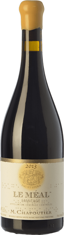 328,95 € Free Shipping | Red wine Chapoutier Le Méal Rouge Crianza A.O.C. Hermitage Rhône France Syrah Bottle 75 cl