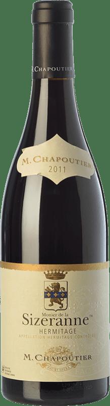 103,95 € Free Shipping | Red wine Chapoutier Monier de la Sizeranne Crianza A.O.C. Hermitage Rhône France Syrah Bottle 75 cl