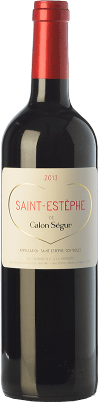 29,95 € 免费送货 | 红酒 Château Calon Ségur Crianza A.O.C. Saint-Estèphe 波尔多 法国 Merlot, Cabernet Sauvignon, Cabernet Franc, Petit Verdot 瓶子 75 cl