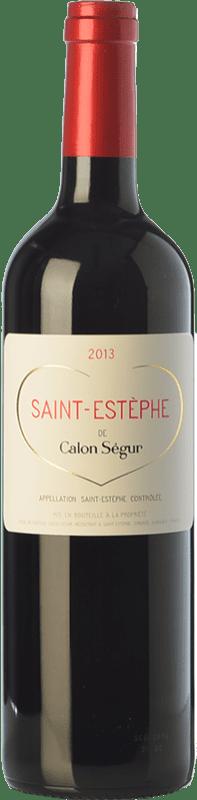 29,95 € Free Shipping | Red wine Château Calon Ségur Crianza A.O.C. Saint-Estèphe Bordeaux France Merlot, Cabernet Sauvignon, Cabernet Franc, Petit Verdot Bottle 75 cl