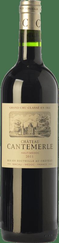 41,95 € Free Shipping | Red wine Château Cantemerle Crianza A.O.C. Haut-Médoc Bordeaux France Merlot, Cabernet Sauvignon, Cabernet Franc, Petit Verdot Bottle 75 cl