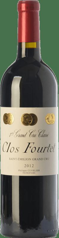 145,95 € | Red wine Château Clos Fourtet Crianza A.O.C. Saint-Émilion Grand Cru Bordeaux France Merlot, Cabernet Sauvignon, Cabernet Franc Bottle 75 cl