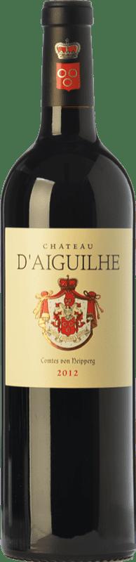 34,95 € Free Shipping | Red wine Château d'Aiguilhe Crianza A.O.C. Côtes de Castillon Bordeaux France Merlot, Cabernet Franc Bottle 75 cl