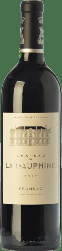 25,95 € Free Shipping | Red wine Château de la Dauphine Crianza A.O.C. Fronsac Bordeaux France Merlot, Cabernet Franc Bottle 75 cl