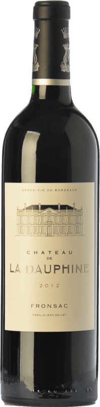 25,95 € Envío gratis   Vino tinto Château de la Dauphine Crianza A.O.C. Fronsac Burdeos Francia Merlot, Cabernet Franc Botella 75 cl