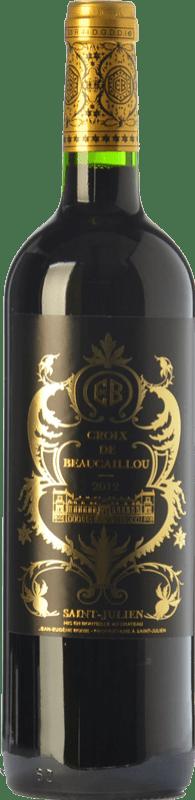 79,95 € Free Shipping | Red wine Château Ducru-Beaucaillou Croix de Beaucaillou Crianza A.O.C. Saint-Julien Bordeaux France Merlot, Cabernet Sauvignon Bottle 75 cl