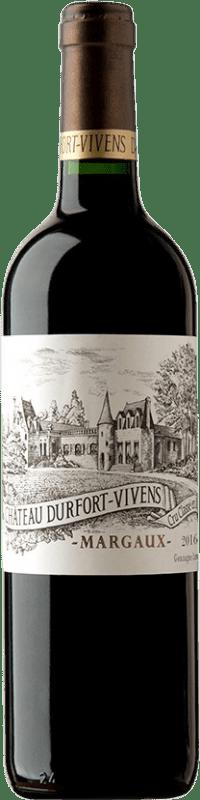 89,95 € Free Shipping | Red wine Château Durfort Vivens Reserva A.O.C. Margaux Bordeaux France Merlot, Cabernet Sauvignon, Cabernet Franc Bottle 75 cl