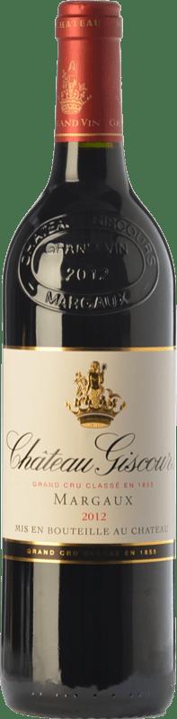 112,95 € | Red wine Château Giscours Crianza A.O.C. Margaux Bordeaux France Merlot, Cabernet Sauvignon Bottle 75 cl