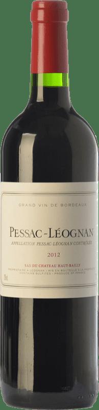 19,95 € | Red wine Château Haut-Bailly Crianza A.O.C. Pessac-Léognan Bordeaux France Merlot, Cabernet Sauvignon, Cabernet Franc Bottle 75 cl