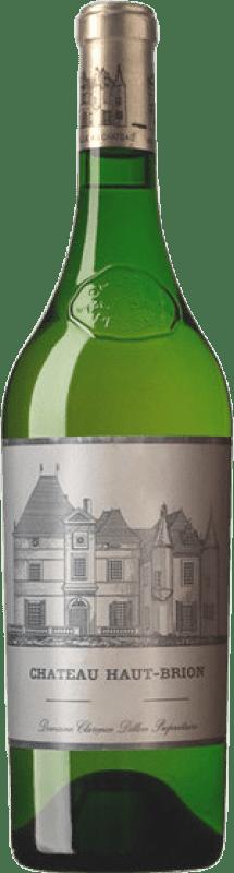 White wine Château Haut-Brion Blanc Crianza A.O.C. Pessac-Léognan Bordeaux France Sauvignon White, Sémillon Bottle 75 cl