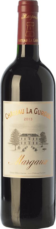18,95 € Free Shipping | Red wine Château La Gurgue Crianza A.O.C. Margaux Bordeaux France Merlot, Cabernet Sauvignon, Petit Verdot Bottle 75 cl